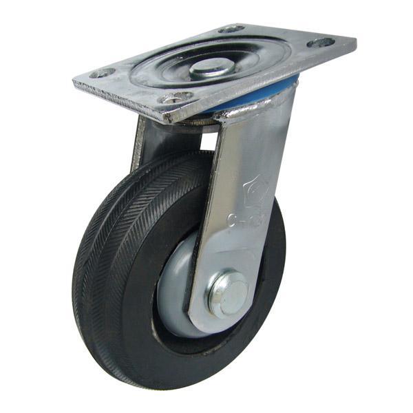 Ưu điểm của bánh xe đẩy làm bằng chất liệu cao su mềm